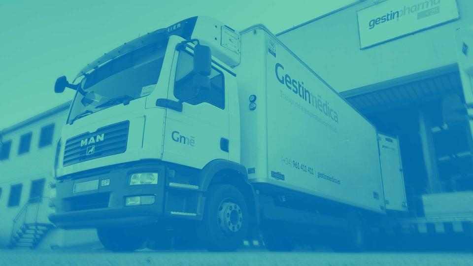 Flota de camiones Gestinmédica BNR