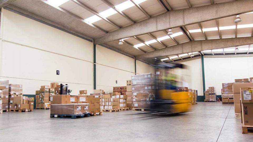 Almacén de productos para farmacias y centros de salud