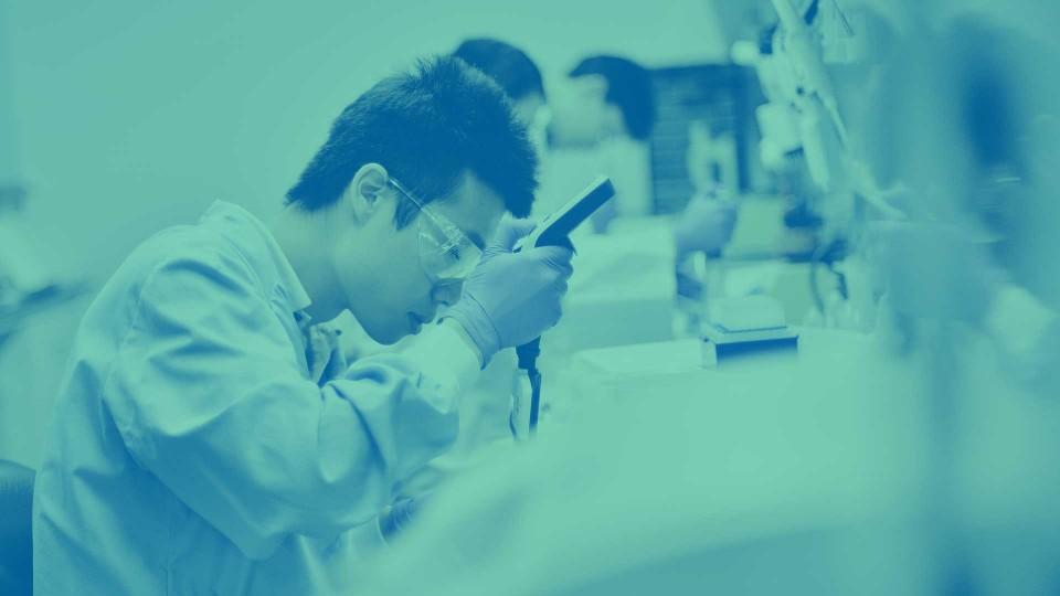 Investigación en laboratorio médico