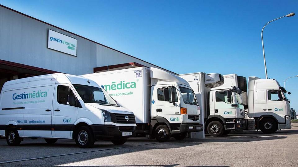 Vehículos refrigerados Gestinmédica