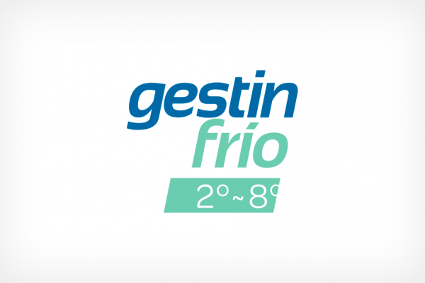 Logotipo GestinFrío transporte entre 2ºC y 8ºC