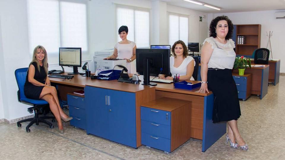 Miembros del área de contabilidad y gestión Gestinmédica