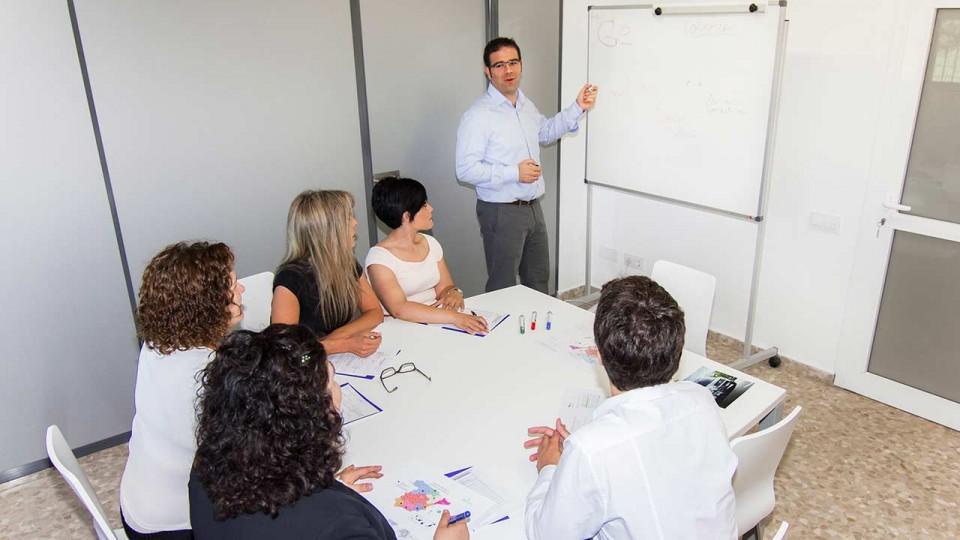 Equipo Gestinmédica en planificación de rutas