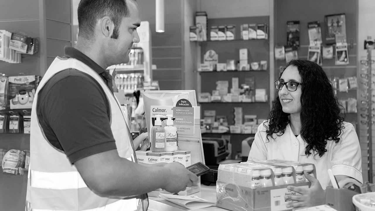 Reparto a domicilio para farmacias de productos sanitarios y medicamentos