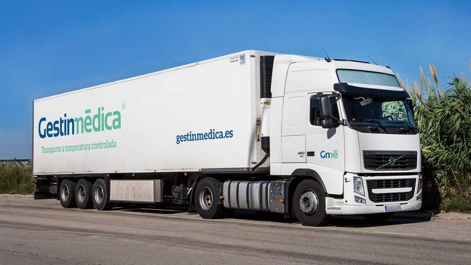 Camión trailer para transporte Pharma