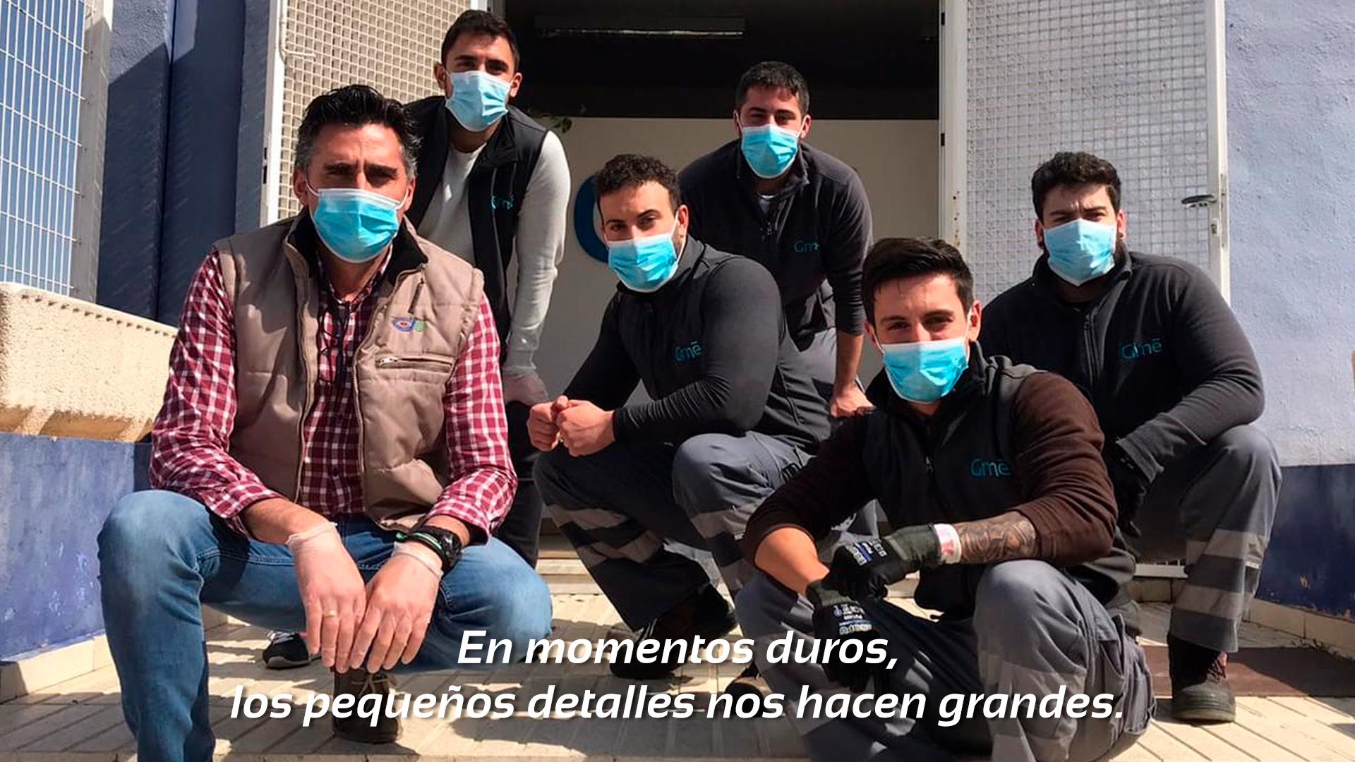 Equipo humano Gestinmédica Murcia